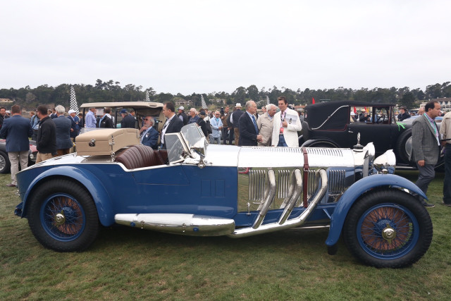 1929 Mercedes-Benz S Barker Tourer, 2017 Pebble Beach Concours d'Elegance Best in Show