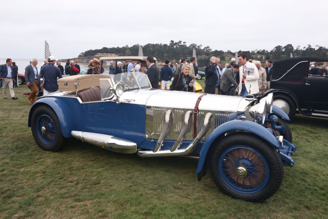 1929 Mercedes-Benz S Barker Tourer, 2017 Pebble Beach Concours d'Elegance Best in Show