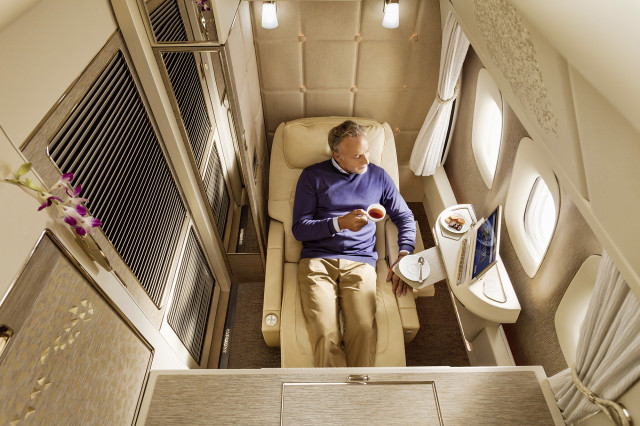 Mercedes-Benz and Emirates Airline team up for first-class comfort