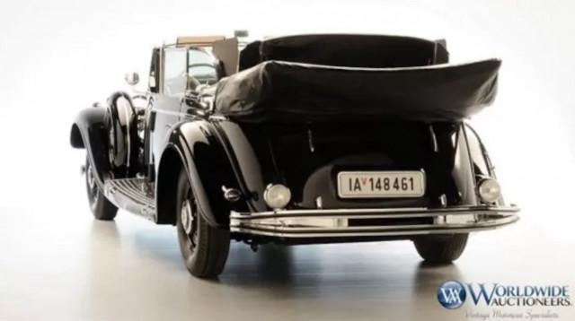 Adolf Hitler's personal 1939 Mercedes-Benz 770 K Grosser Offener Tourenwagen