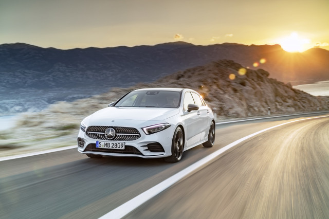 2018 Mercedes Benz A Class Aims Higher For Compact Luxury Cars