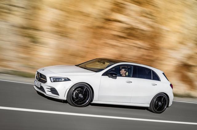 New Mercedes Benz A Class Hatchback To Spawn Cla Sedan Eqa Electric Car