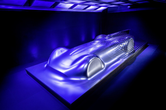 Mercedes Aesthetics Progessive Luxury sculpture