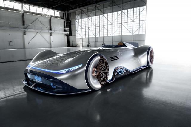 Mercedes' EQ Silver Arrow concept