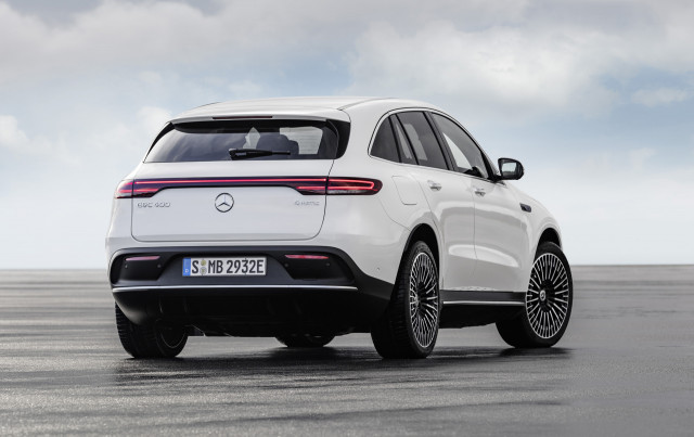 Mercedes-Benz reveals 2020 EQC