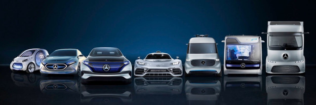 Daimler future electrified vehicles