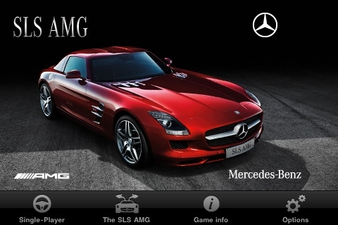 Mercedes iPhone app for the SLS AMG