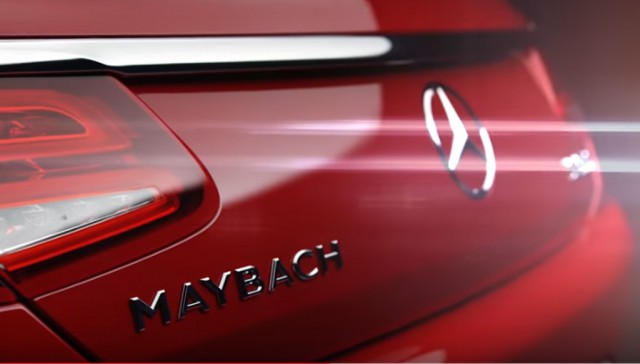 Mercedes-Maybach S650 Cabriolet teased ahead of 2016 Los Angeles auto show