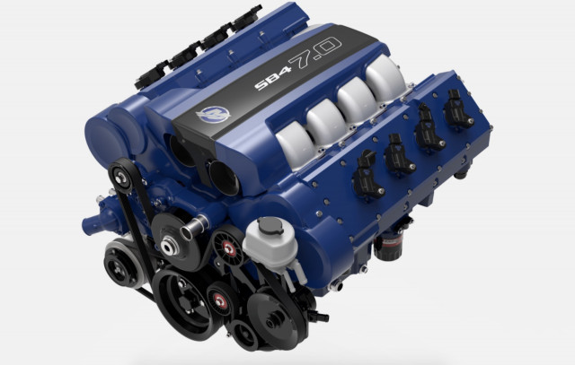 LS7-related crate engine delivers 750 naturally aspirated horsepower