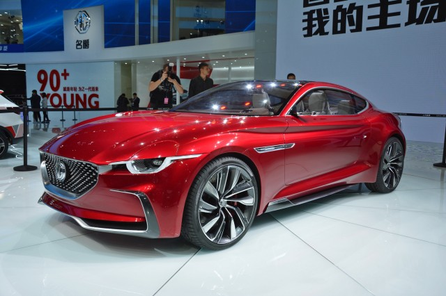 MG E-motion concept, 2017 Shanghai auto show [photo: Ronan Glon]