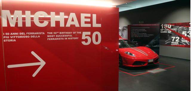 Michael 50 - Michael Schumacher exhibition at the Ferrari Museum