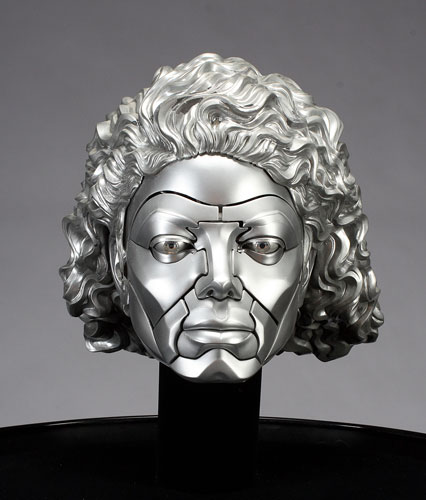 Michael Jackson's robot head from Moonwalker