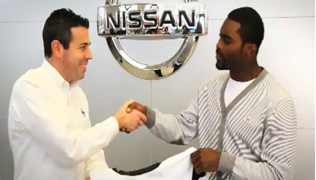 Michael Vick commercial for Woodbury Nissan