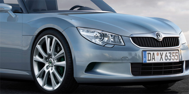 According to the rumor mill, Skoda, Seat, Audi and VW will all spawn a compact roadster based on the Bluesport concept