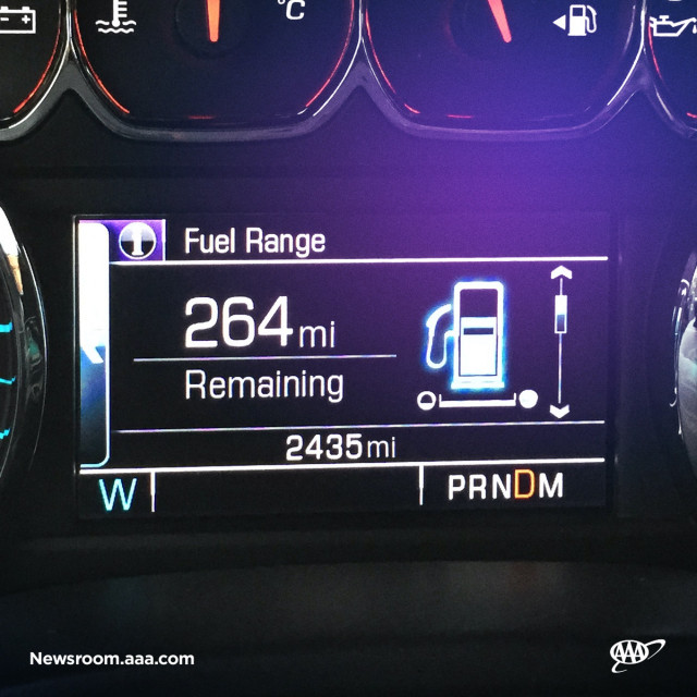 Your mileage may vary: AAA finds mpg meters inaccurate