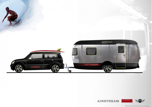 Mini Clubman And Airstream Trailer Concept Headed To