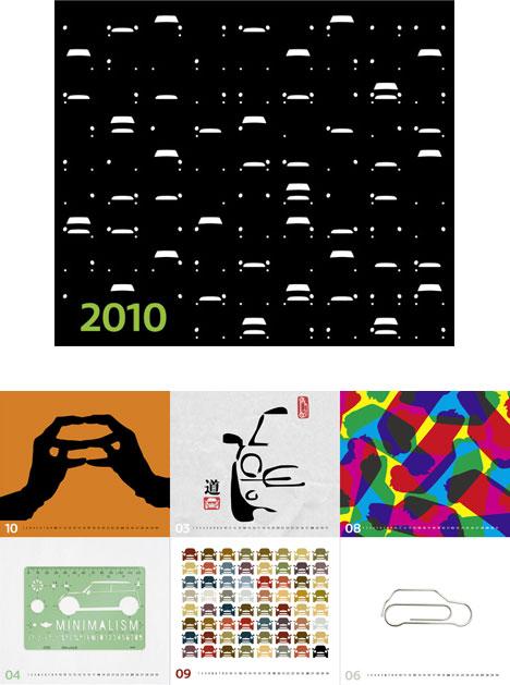 MINI calendar 2010