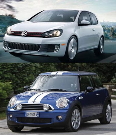 Hot Hatch Rivalry Mini Cooper S Vs Volkswagen Gti