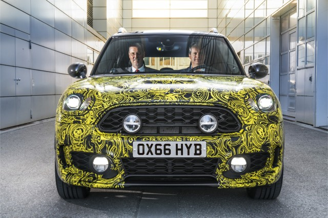 All Electric Mini E For To Appear At Frankfurt Show In