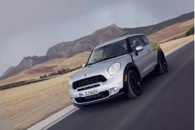 MINI shows its Paceman Coupe on the MINI Facebook page