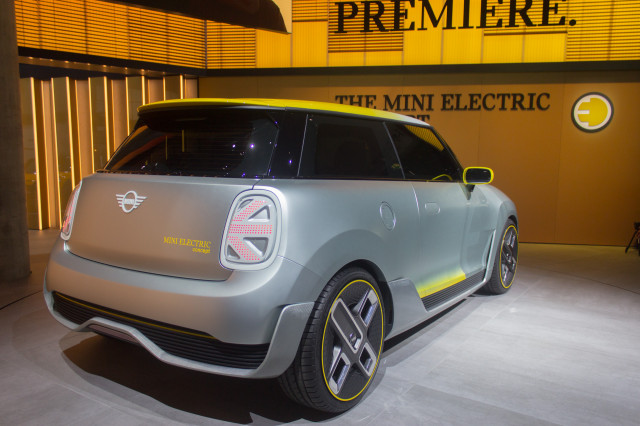 Mini Electric Concept 2017 Frankfurt Motor Show