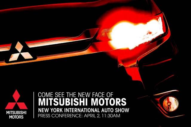 Mitsubishi 2015 New York Auto Show teaser