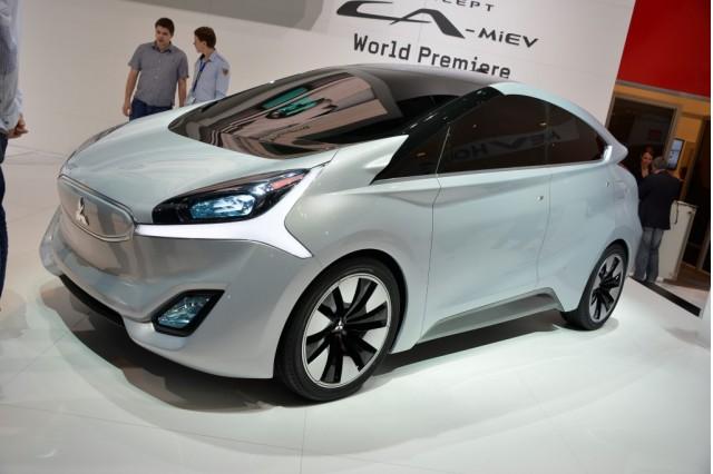 Mitsubishi CA-MiEV electric car: Geneva Motor Show live photos