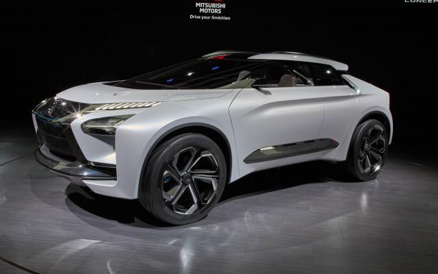 Mitsubishi E Evolution Concept 2017 Tokyo Motor Show