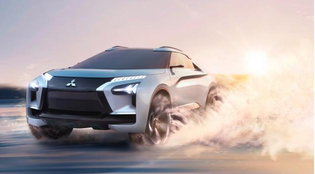 Mitsubishi e-Evolution concept at 2018 LA Auto Show