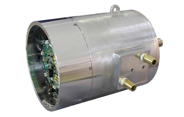 Mitsubishi Electric combined motor and inverter