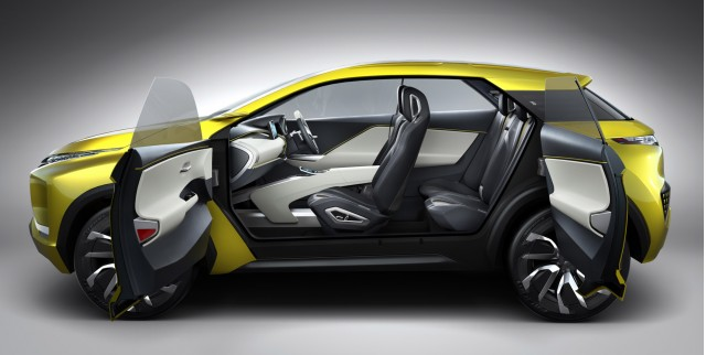 Mitsubishi electric suv
