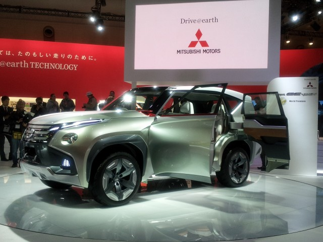 Mitsubishi GC-PHEV Concept, 2013 Tokyo Motor Show