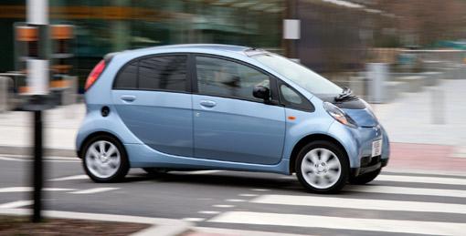 mitsubishi i electric car to enter production