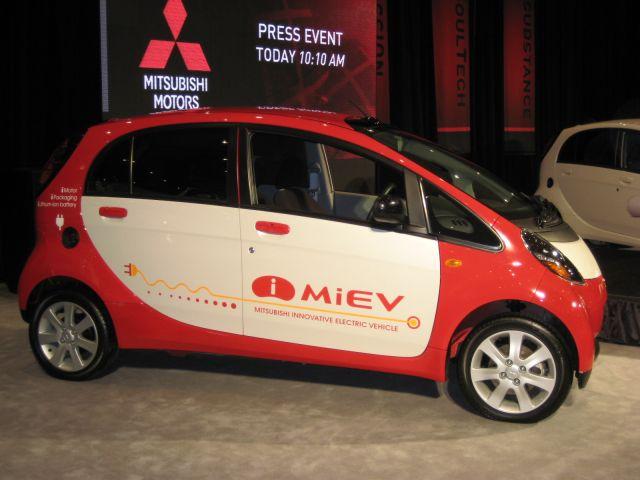 Mitsubishi i-MIEV electric car