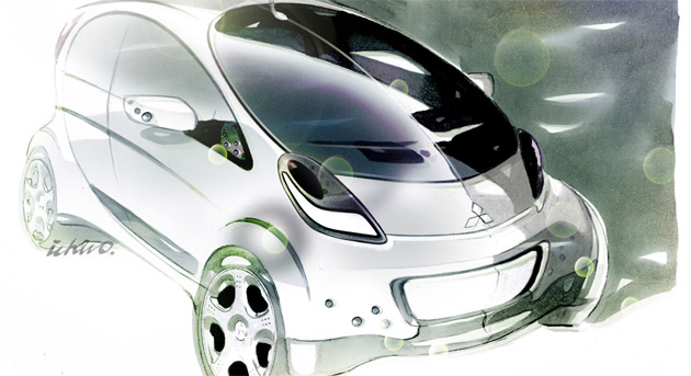 Peugeot will sell a rebadged version of Mitsubishi's i-Miev electric car late next year