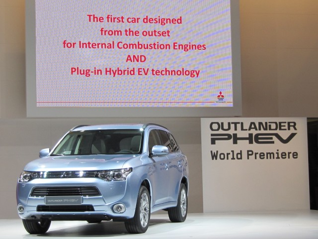 2016 mitsubishi outlander plug in hybrid u s arrival. Black Bedroom Furniture Sets. Home Design Ideas