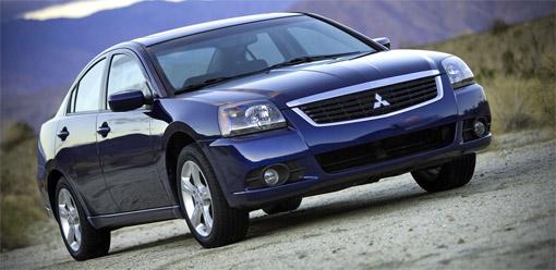 Mitsubishi presents 2009 Galant facelift at Chicago
