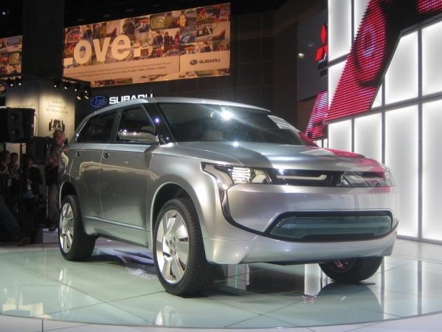 Mitsubishi PX-MiEV concept crossover, 2009 Los Angeles Auto Show