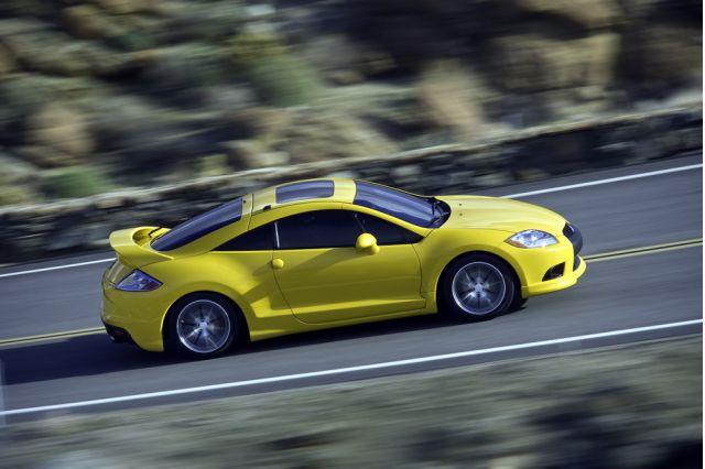 2009 Mitsubishi Eclipse Gets Small Face Lift