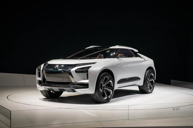 Mitsubishi e-Evolution Concept, 2018 LA Auto Show