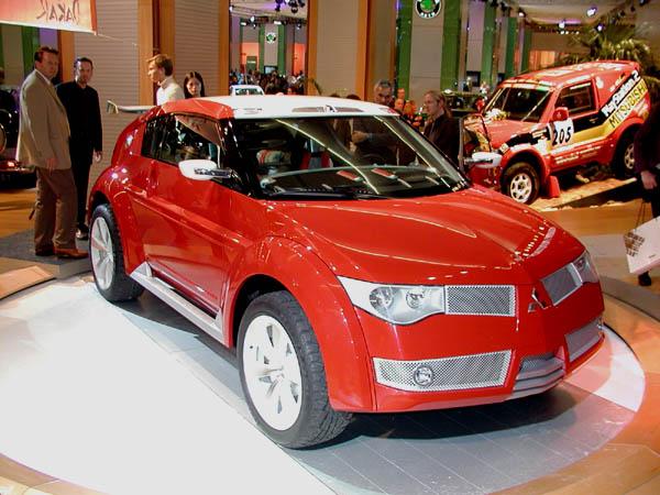 Mitsubishi concept Frankfurt 2001