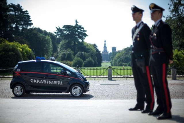 Mitusbishi i-MiEV Carabinieri