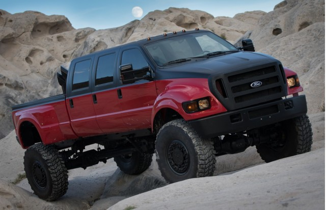 "Modified Ford F-650 featured on ""Diesel Brothers"" (Photo by DieselSellerz.com)"