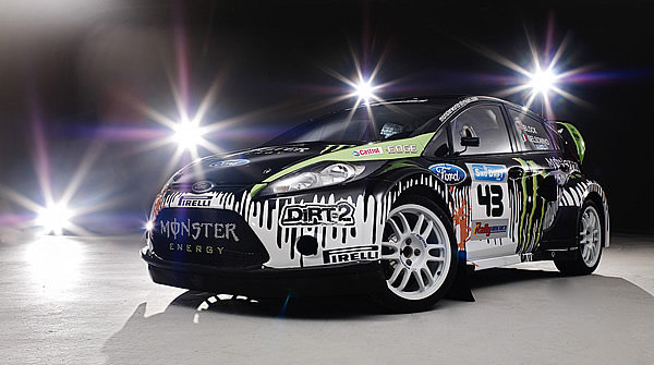 Video Ken Block And Monster Rally Unveil Fiesta Rally Car