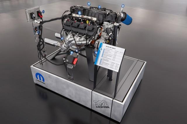 Mopar engine swap kit, 2016 SEMA show