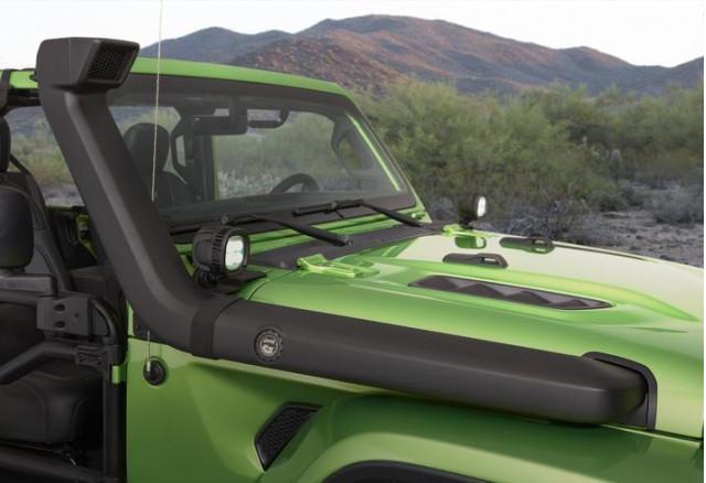 Mopar Modified Jeep Wrangler Features A Snorkel