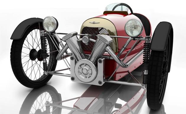 Morgan Unveils PedalPowered 3 Wheeler
