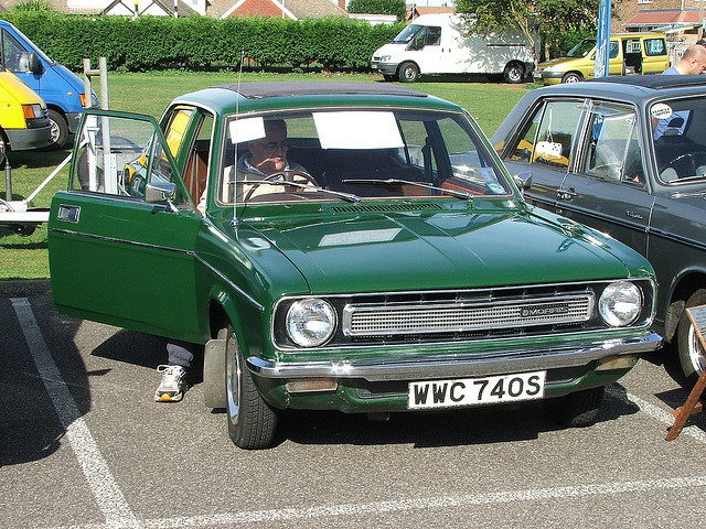 Morris Marina (sold in North America as Austin Marina), by Flickr user Chris Sampson (hha1241)