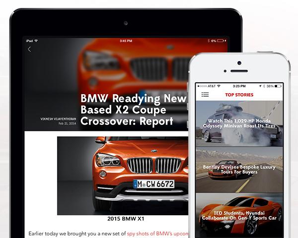 Motor Authority iOS App