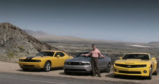 motor trend comparo 2011 mustang gt vs camaro ss vs challenger srt8. Black Bedroom Furniture Sets. Home Design Ideas